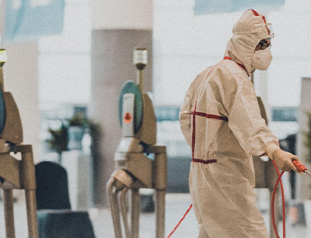 Nuovo Servizio di Sanificazione Ambienti di Lavoro