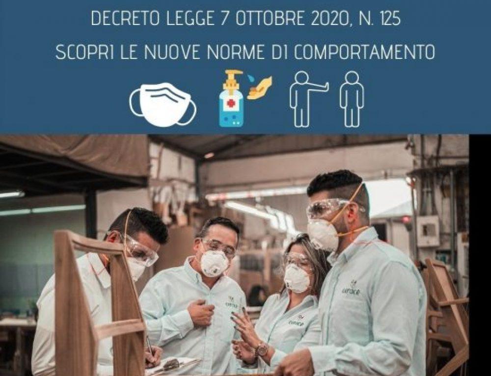 Covid-19 e D.L. 7 ottobre 2020: cosa cambia per le Aziende?